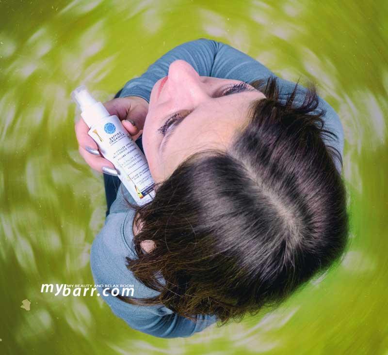 spray ricostituente capelli Biofiller Zaffiro Organica mybarr opinioni