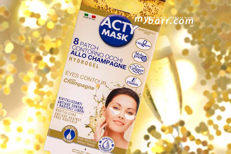 Acty Mask patch occhi champagne opinioni mybarr