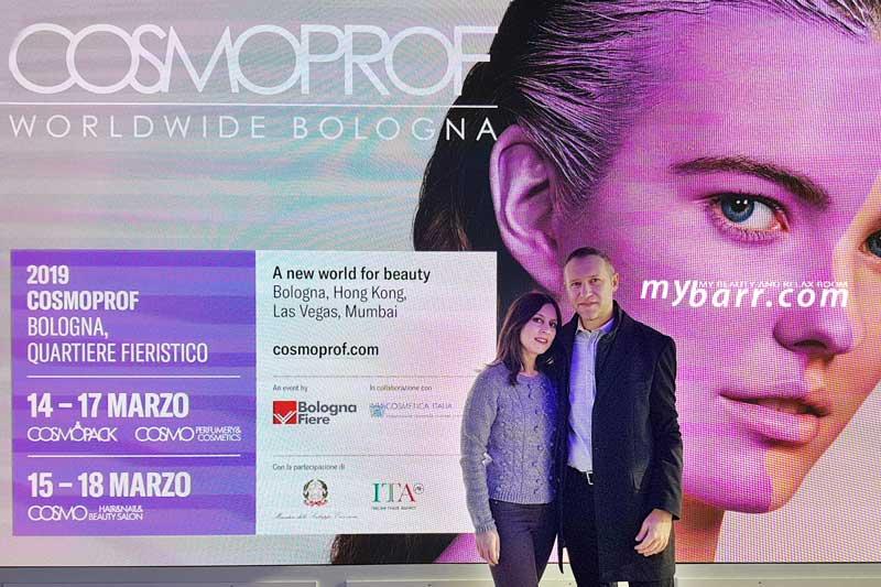 cosmoprof 2019 bologna conferenza stampa milano mybarr