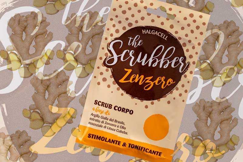 scrub corpo zenzero halgacell & the scrubber opinioni mybarr