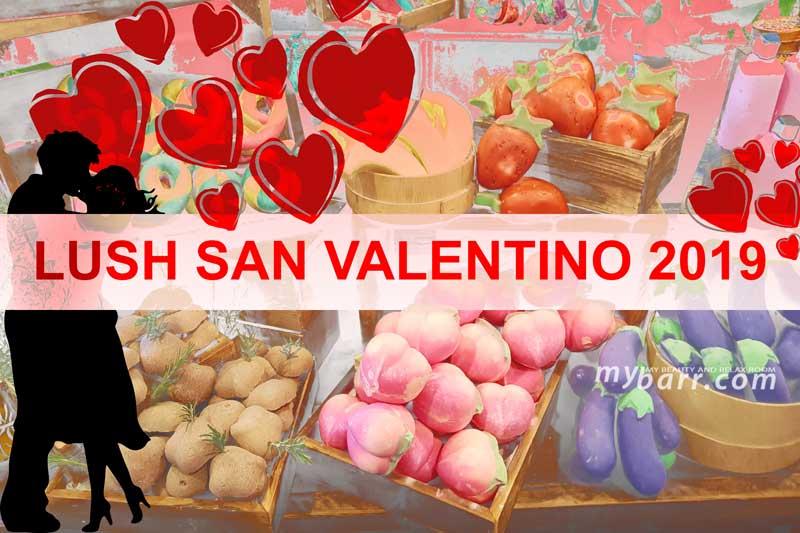 Lush San Valentino 2019: idee regalo per bagni colorati e sexy mybarr