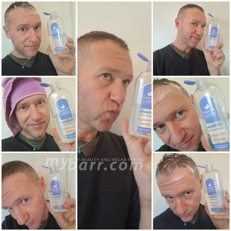 Sapone delle Dolomiti shampoo papavero alpino mybarr