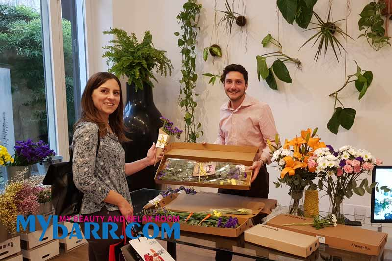 evento essere donna blooming flower experience mybarr