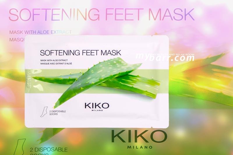 kiko maschera piedi aloe softening feet mask mybarr opinioni
