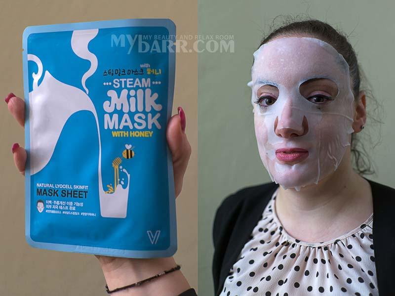 company v steam milk maschera coreana latte e miele mybarr opinioni