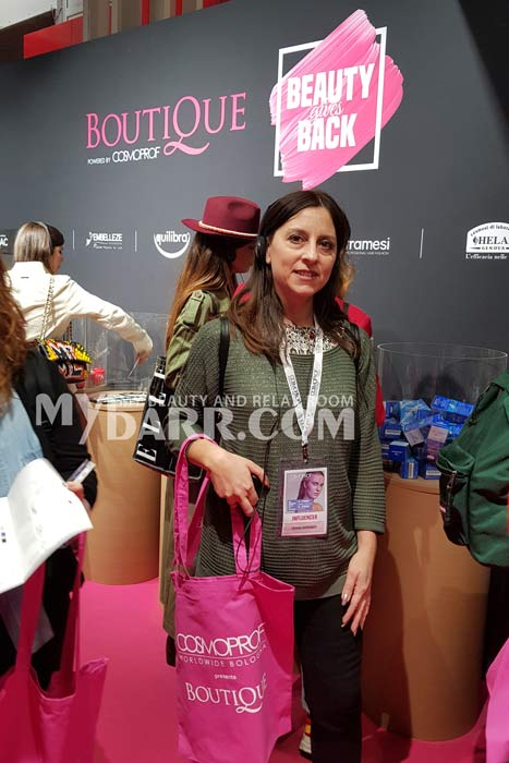 cosmoprof bologna 2019 Beauty Gives Back Hosted by Boutique mybarr