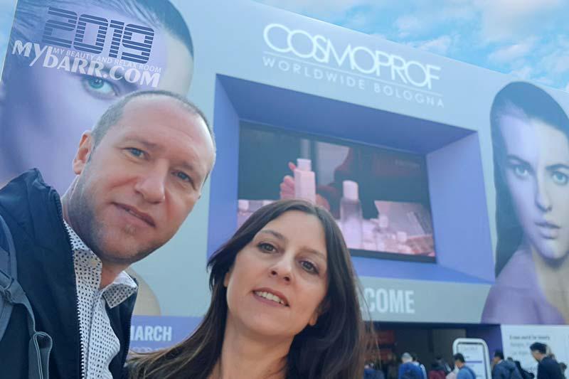 cosmoprof bologna 2019 beauty influencer mybarr