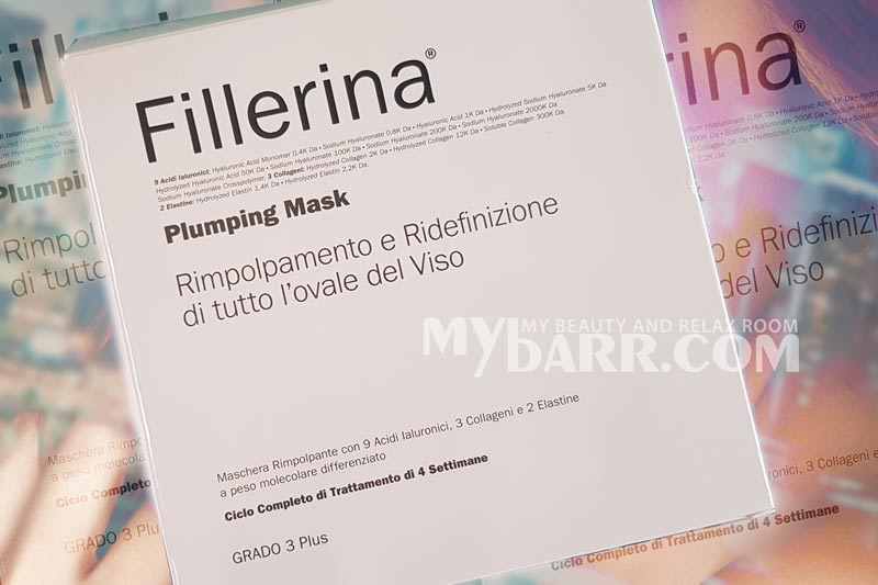 Labo Suisse Fillerina plumping mask mybarr opinioni