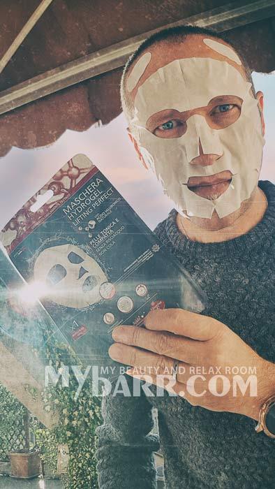 maschera viso IperSoap lifting perfect mybarr