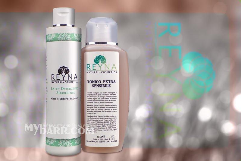 reyna cosmetics latte detergente tonico pelle sensibile mybarr opinioni