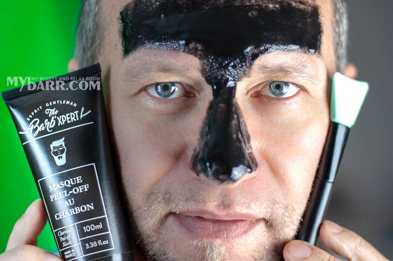 the barb' xpert maschera viso peel off al carbone mybarr