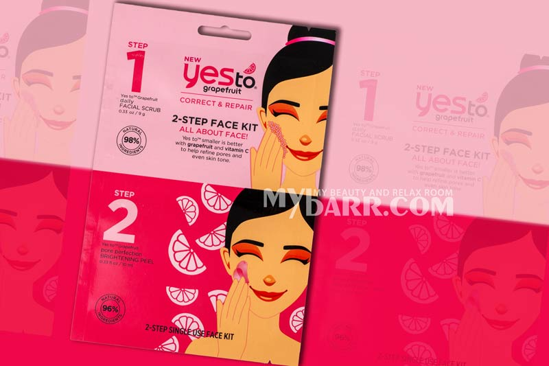 yes to grapefruit 2 step face kit mybarr ovs opinioni