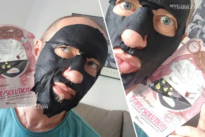 Elizavecca Pore Solution 3 step face mask step 3 mybarr
