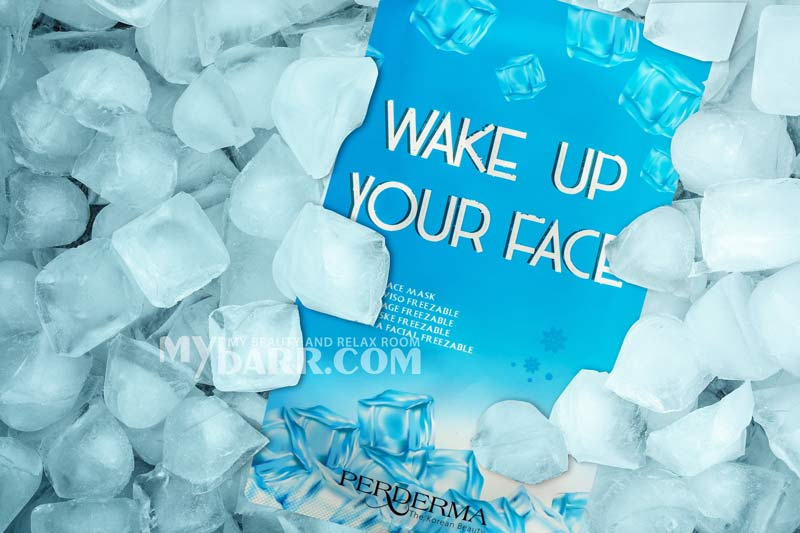 maschera viso refrigerante Wake Up Your Face Perderma mybarr