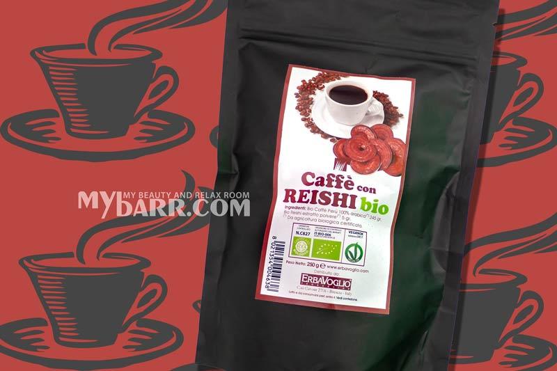 caffè al ganoderma lucidum o reishi bio di Erbavoglio mybarr opinioni