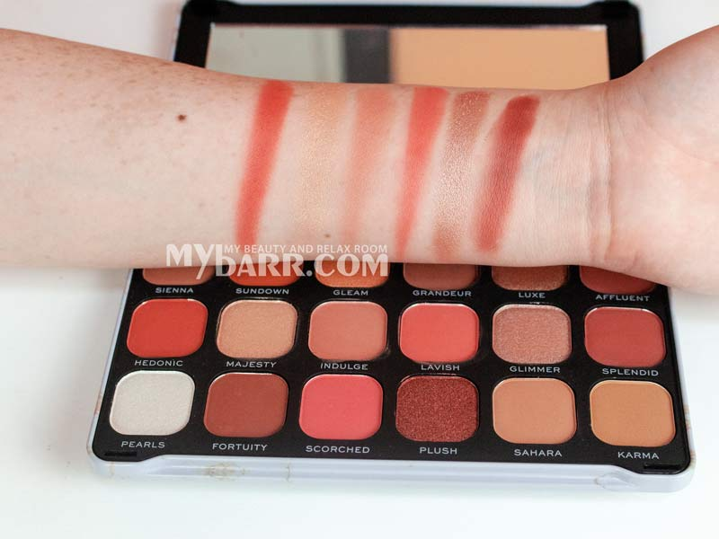 palette revolution forever flawless decadent mybarr