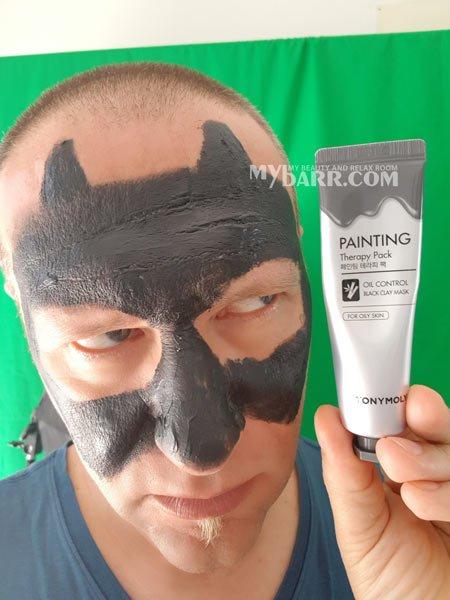 TonyMoly Painting black clay mask mybarr