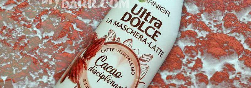 Garnier ultra dolce maschera latte: al cacao per un liscio perfetto