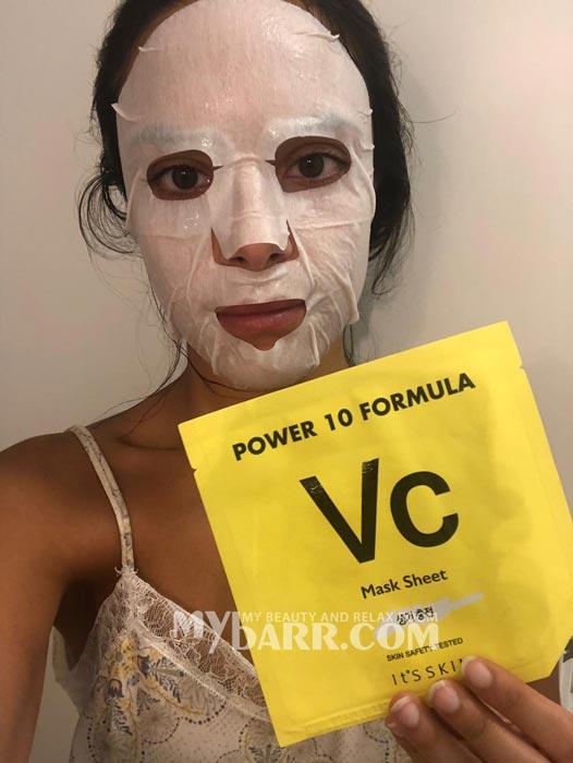 maschera viso it's skin power 10 formula Vc ovs mybarr opinioni