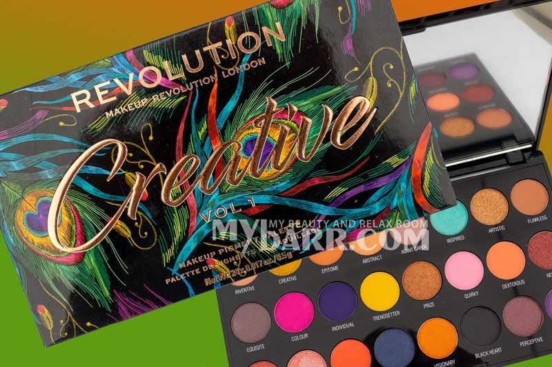 palette creative vol 1 make up revolution mybarr opinioni