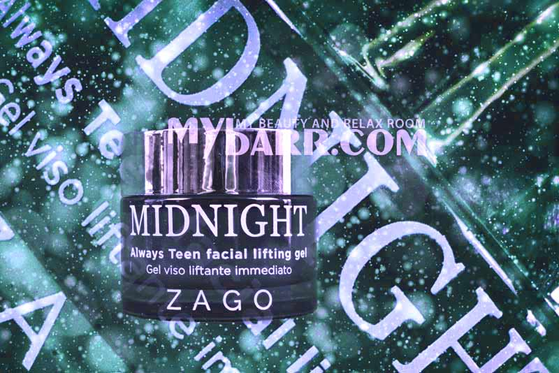 crema base trucco Zago Midnight Always Teen facial lifting gel mybarr opinioni