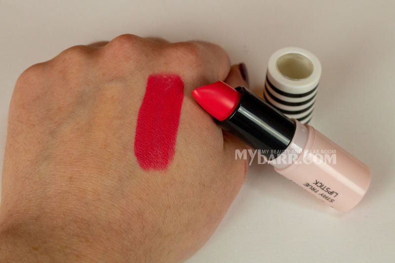 rossetto Pretty By Flormar Stay True Lipstick pink signal n 8 mybarr