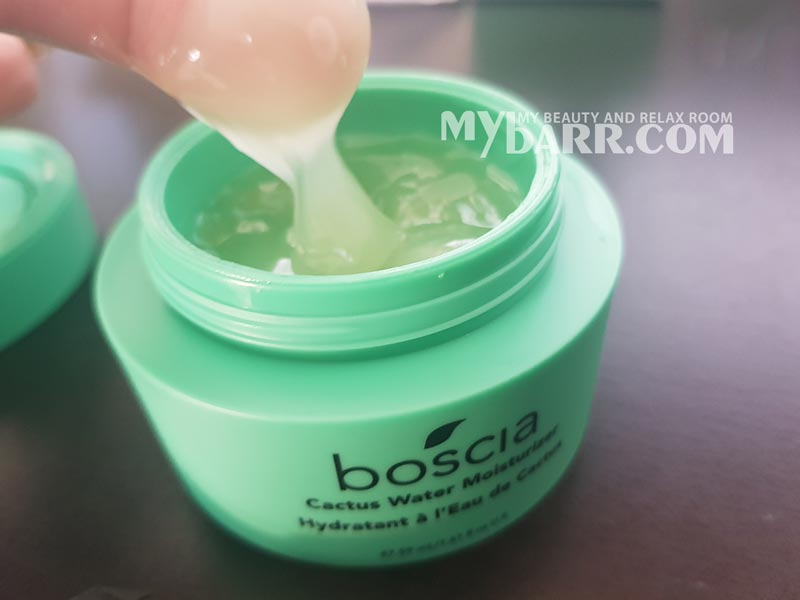 opinione Boscia Cactus Water Moisturizer crema idratante da Sephora - mybarr
