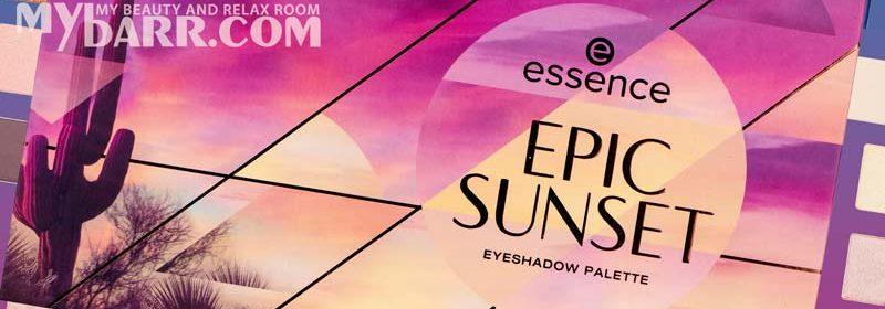 Epic Sunset palette ombretti di Essence ispirata ai tramonti