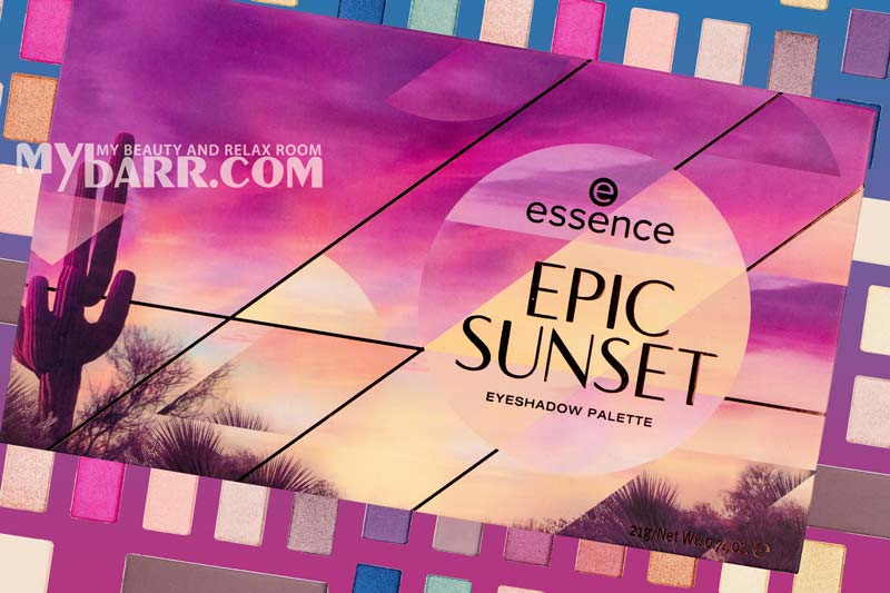essence epic sunset palette ombretti mybarr