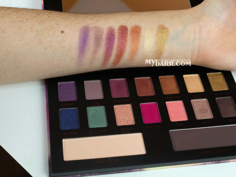 essence epic sunset ombretti swatches mybarr