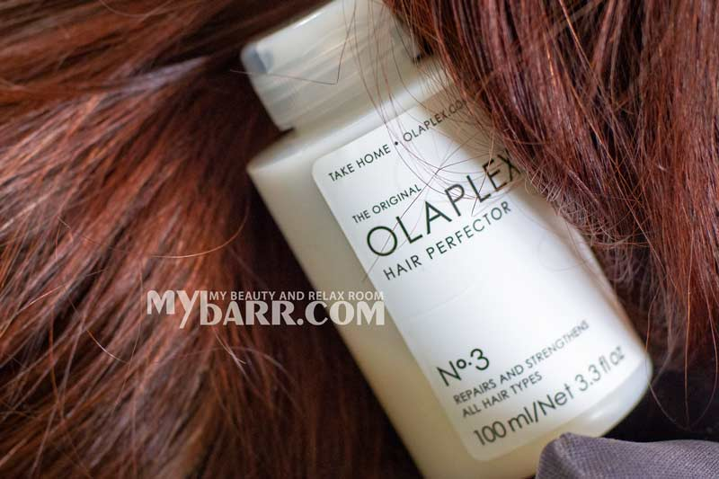 Olaplex 3 hair perfector maschera pre shampoo mybarr opinioni
