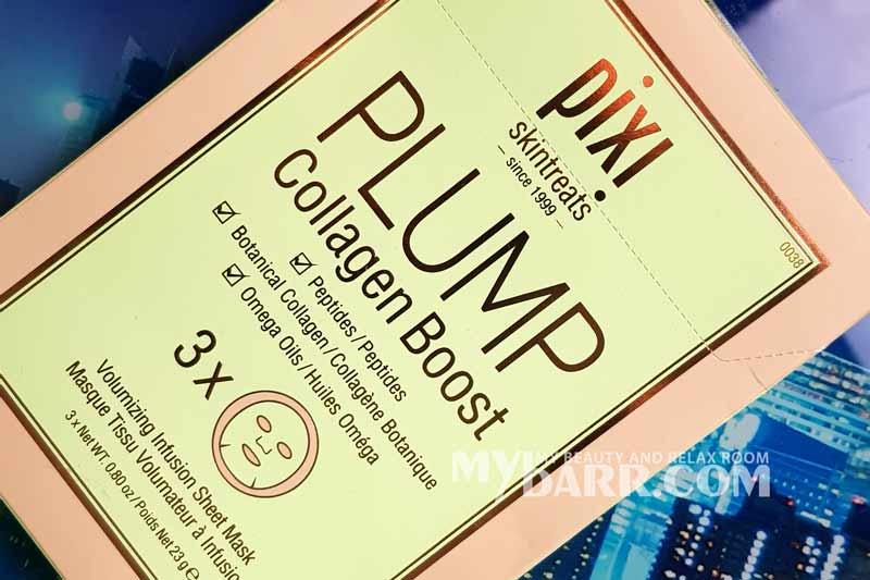 Pixi plump collagen boost mask mybarr opinioni