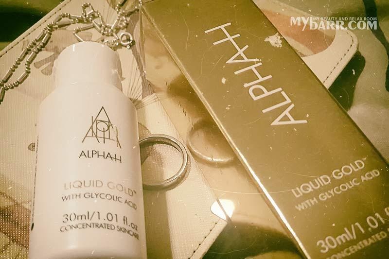 Alpha H Liquid Gold lozione viso acido glicolico mybarr opinioni