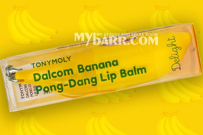 balsamo labbra Tonymoly delight dalcom banana mybarr opinioni