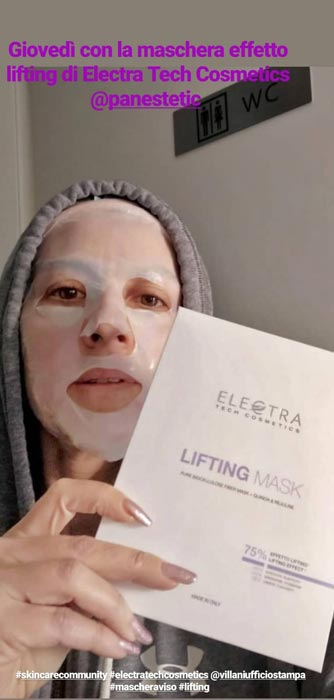 lifting mask panestetic electra tech cosmetics mybarr