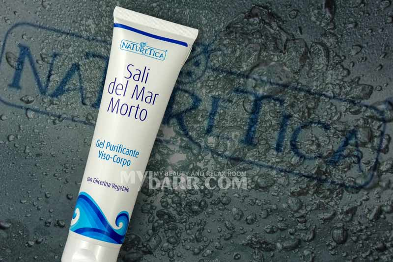 naturetica gel purificante ai sali del mar morto mybarr