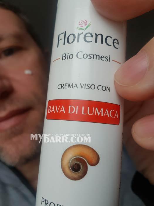 crema viso antiage Florence bava di lumaca amazon mybarr opinioni