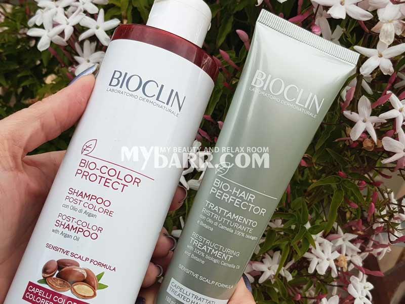 shampoo capelli colorati e trattati Bioclin Bio Color Protect mybarr