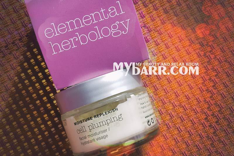 Elemental Herbology cell plumping moisturiser crema viso mybarr