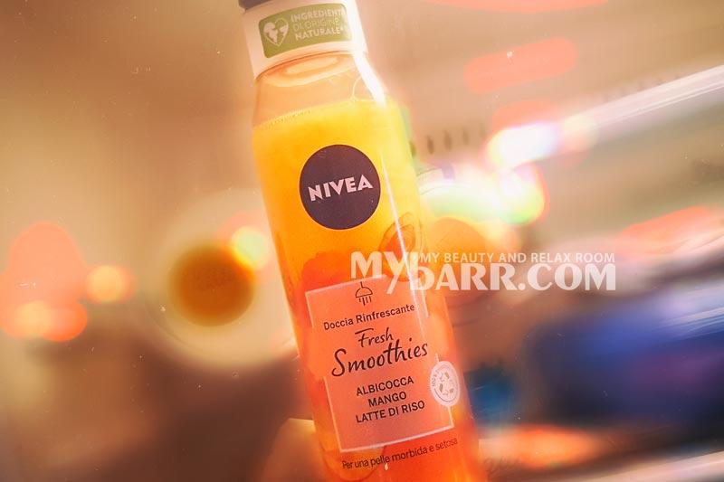 nivea fresh smoothies albicocca e mango doccia rinfrescante mybarr opinioni