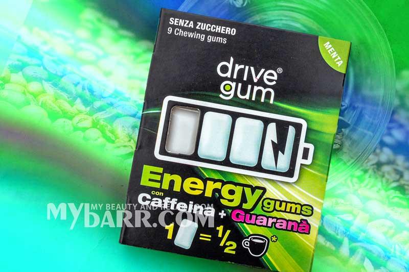 Drive Gum chewing gum funzionale energizzante mybarr opinioni
