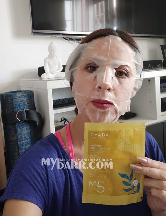 maschera viso gyada cosmetics antiage n 5 bio vegan shop mybarr