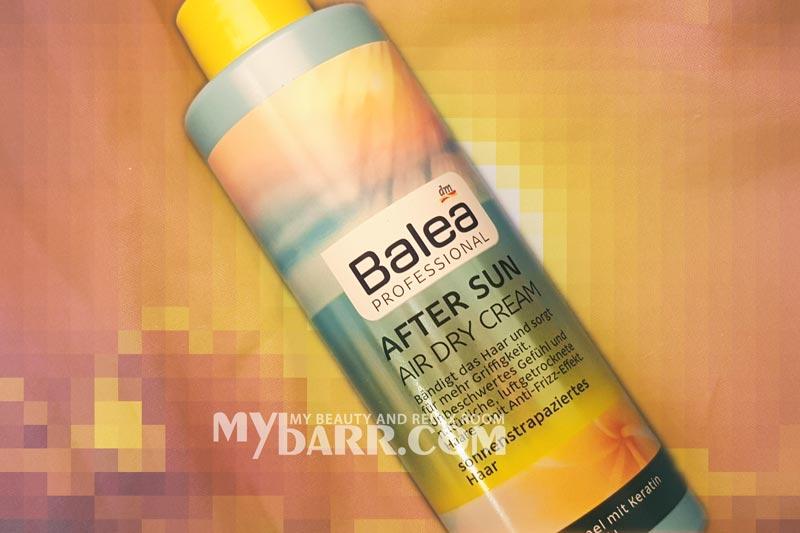 doposole capelli air dry cream balea dm mybarr opinioni