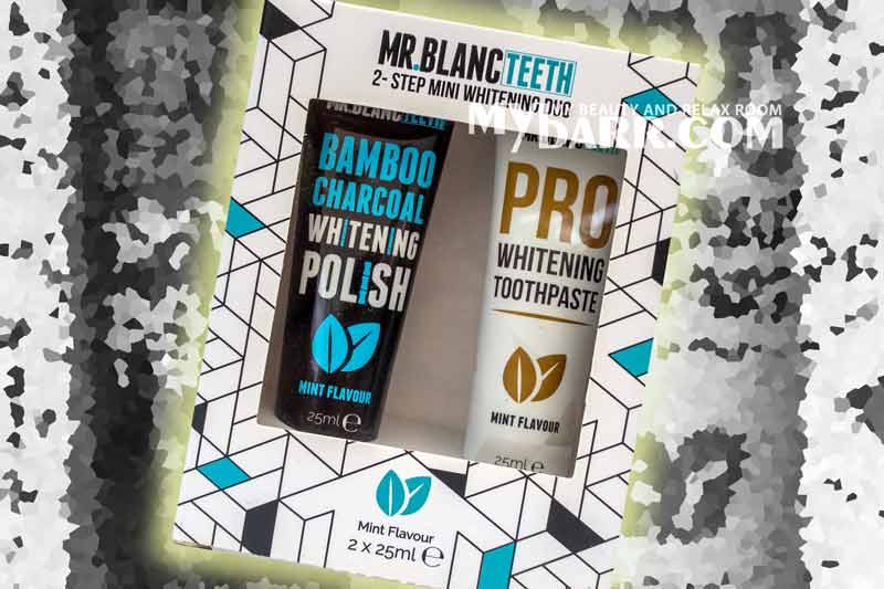 Mr Blanc Teeth duo mini dentifricio sbiancante sephora mybarr