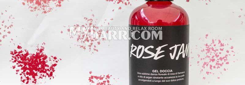 Lush Rose Jam gel doccia idratante alla rosa Damascena