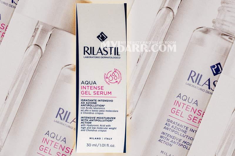 Siero Rilastil aqua intense gel serum idratante e antipollution mybarr