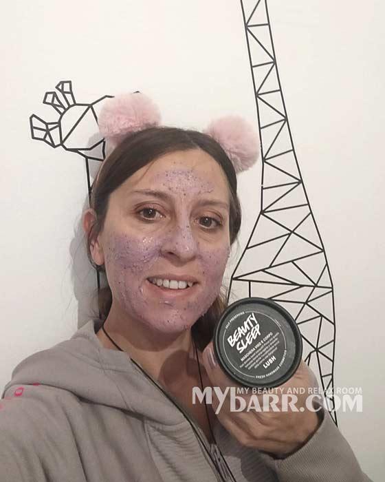 lush beauty sleep mask maschera viso corpo mybarr opinioni