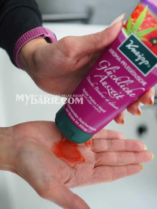 docciaschiuma Kneipp aromatica Glückliche Auszeit naturale antistress mybarr