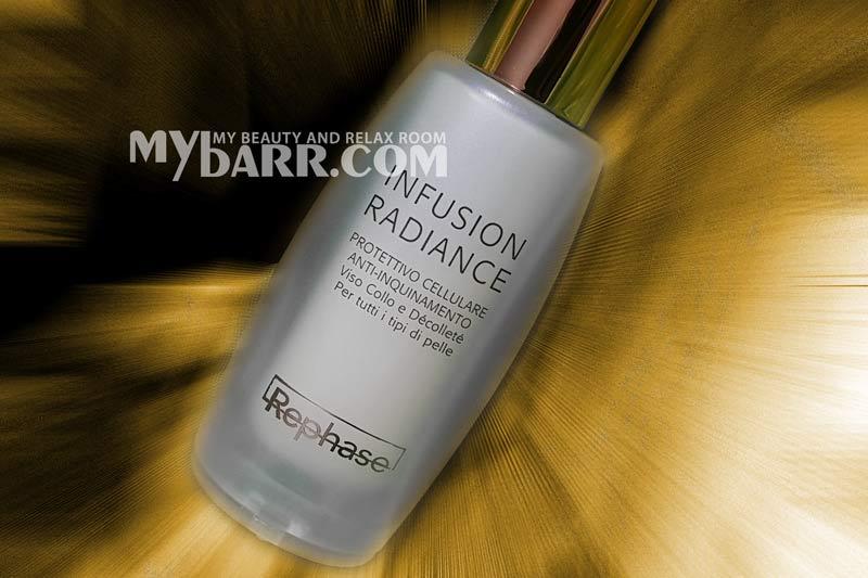rephase infusion radiance trattamento pelle spenta anti smog mybarr