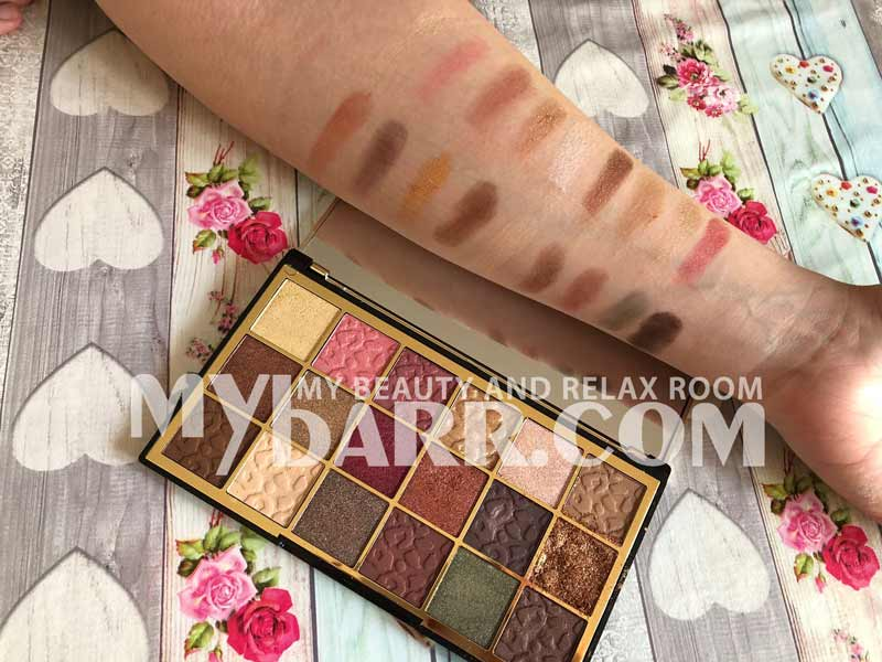 palette wild animal courage makeup revolution swatches mybarr